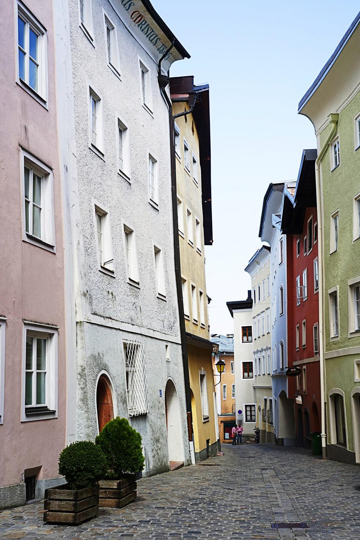 Street in Hallein