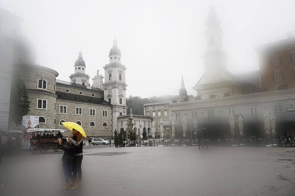 The Square in Yellow and Grey