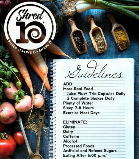 06 - Shred 10 Guidelines - Juice Plus.JPG