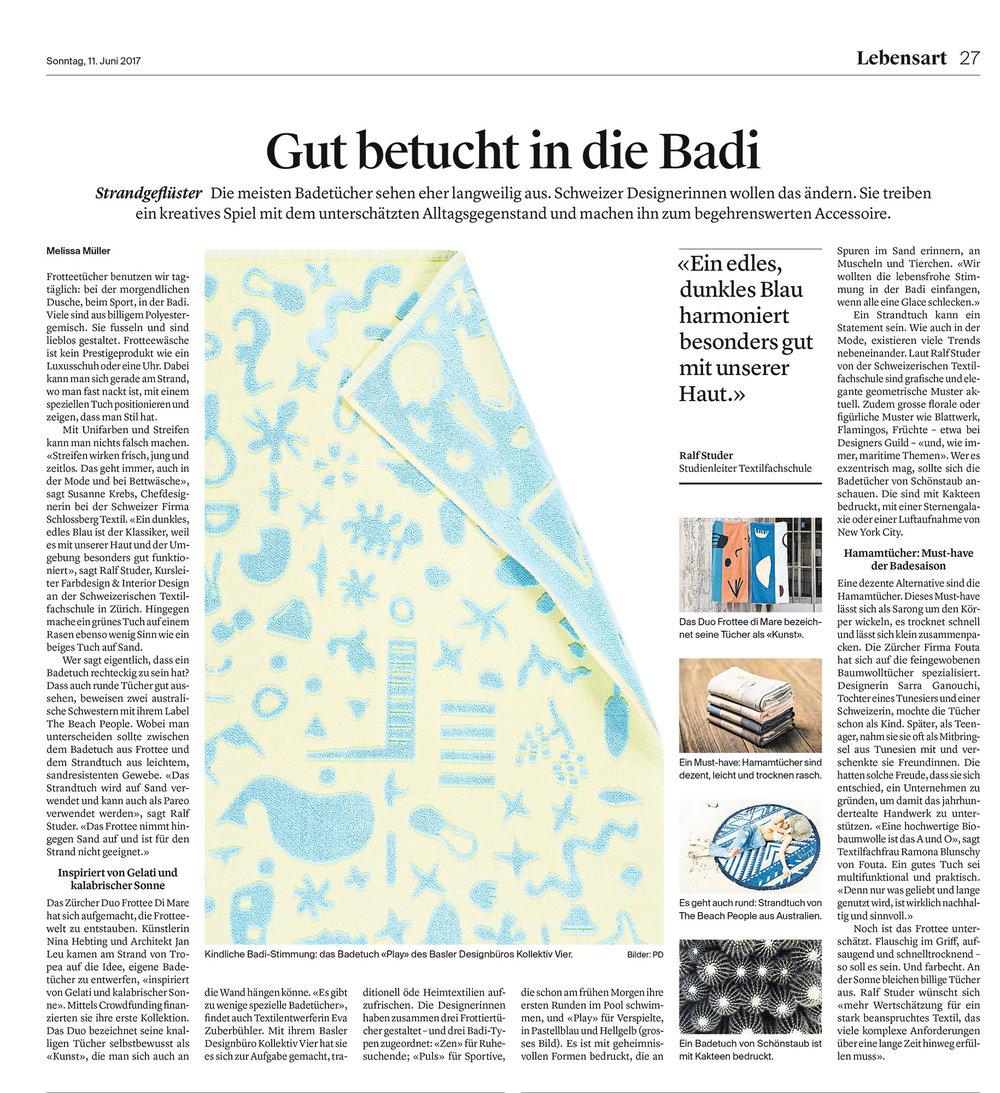 Ostschweiz am Sonntag – 11. Juni 2017