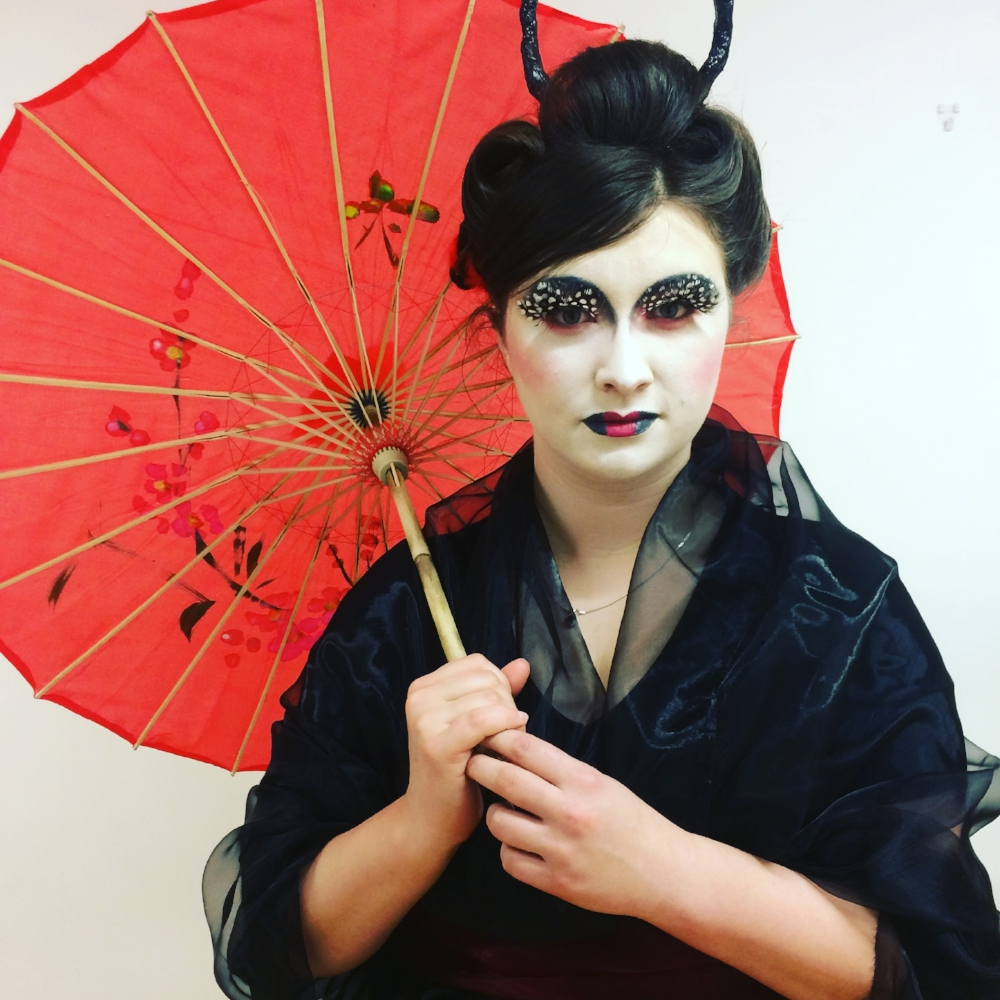 Model: Hatty Hollowell  Make Up, Hair and Costume all designed and created by me!