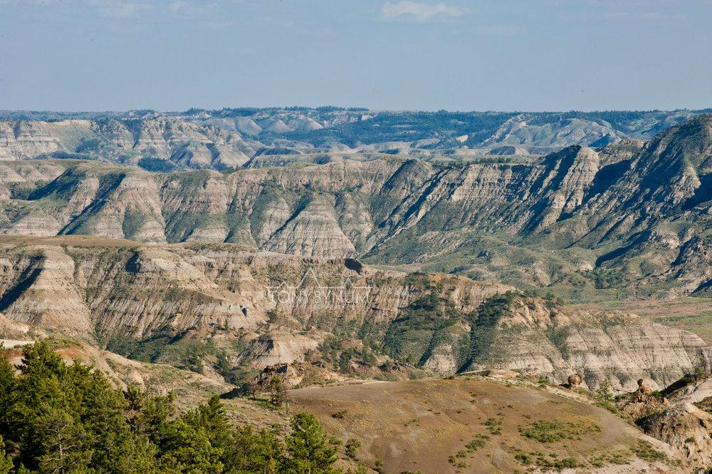 Montana Prairie Badlands