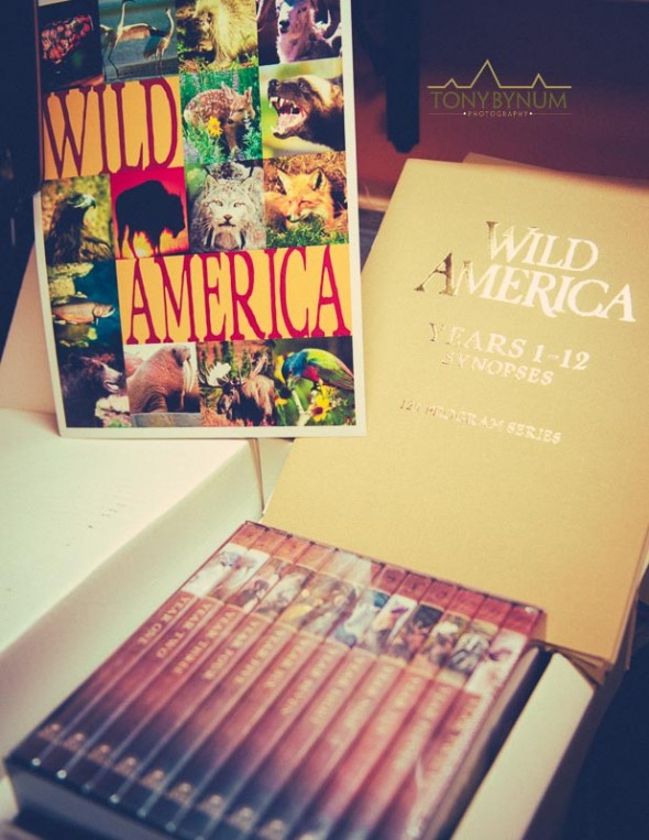 Box Set of 120 episodes of Wild America by Marty Stouffer