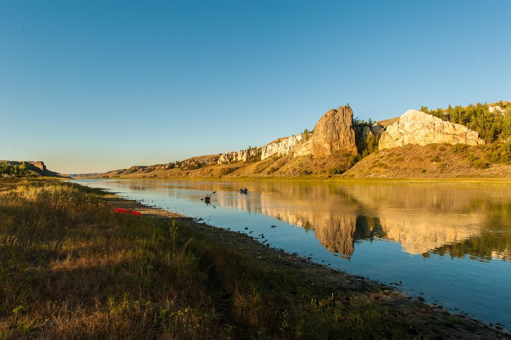 White Cliff of the Upper Missouri River National Monument. This location looks more like it did priore to Lewis anc Clarke than any other place along their historical route. © Tony Bynum