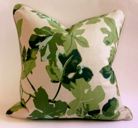 West End Accents Peter Dunham Fig Pillow, $65