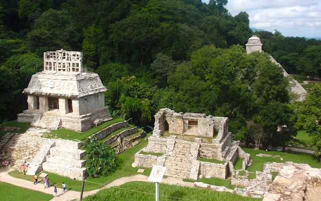 Image From Google,Palenque Mayan Ruins - Chiapas.