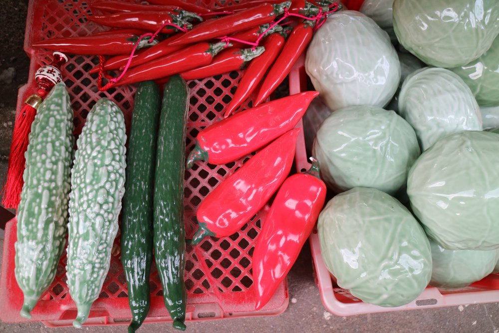 porcelain veggies for sale