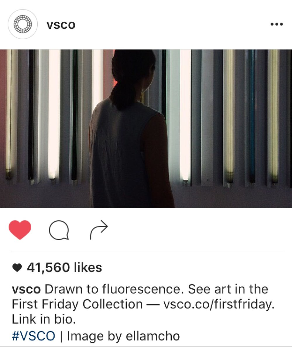VSCO - Via Instagram | First Friday Collection