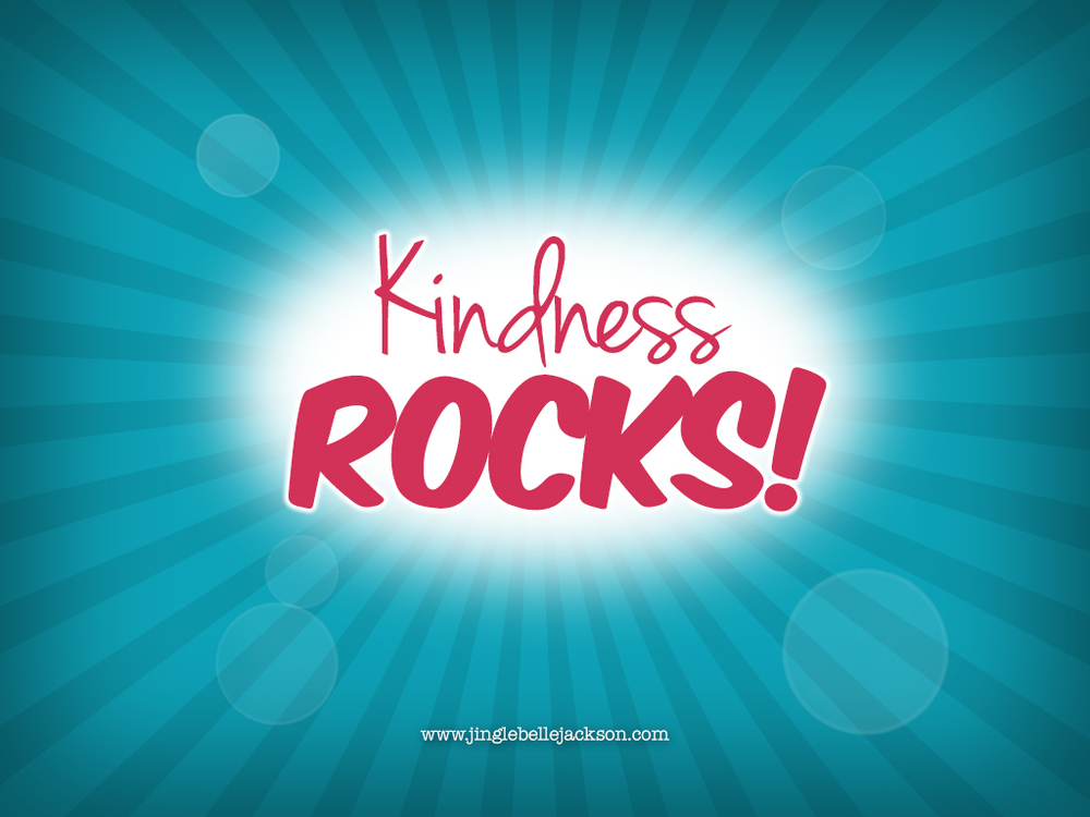 Kindness Rocks Screensaver
