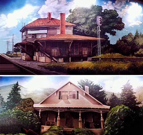 Johnny Cash backdrops