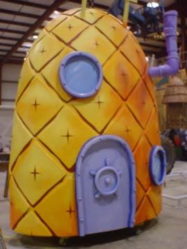 Sponge Bob's house