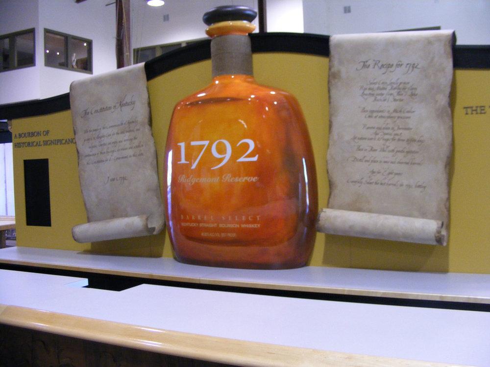 1792 bottle