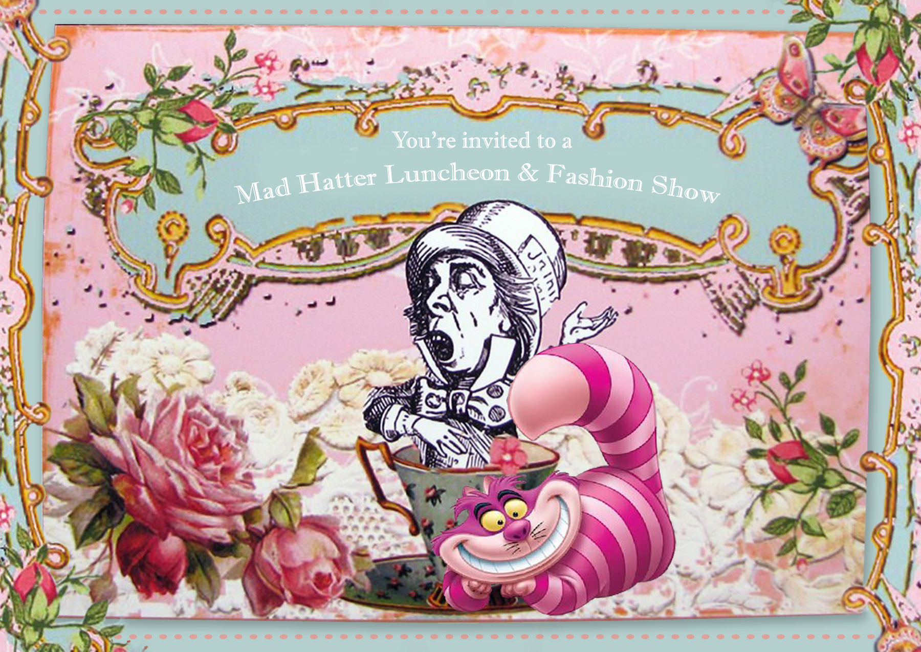 Free Mad Hatters Tea Party, Download Free Clip