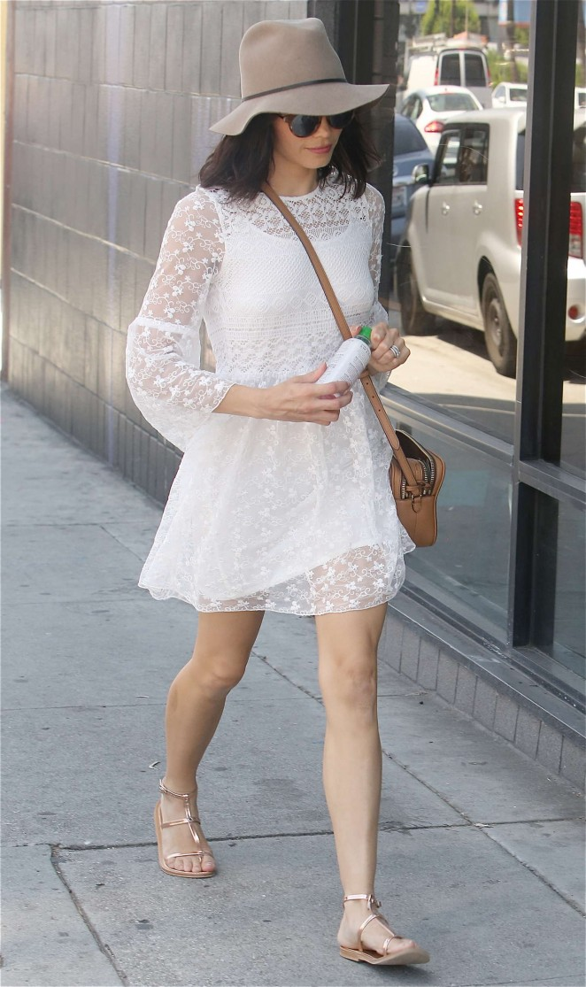 "Jenna Dewan Tatum in the ""Logan"" dress | Designed by Noelle Cruz for TULAROSA"