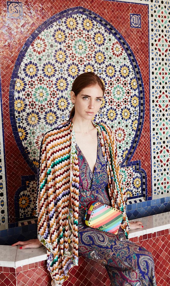 "Chiara Ferragni in the ""Janelle"" jumpsuit | Designed by Noelle Cruz for TULAROSA"