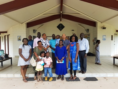African parishioners, Holy Family Parish