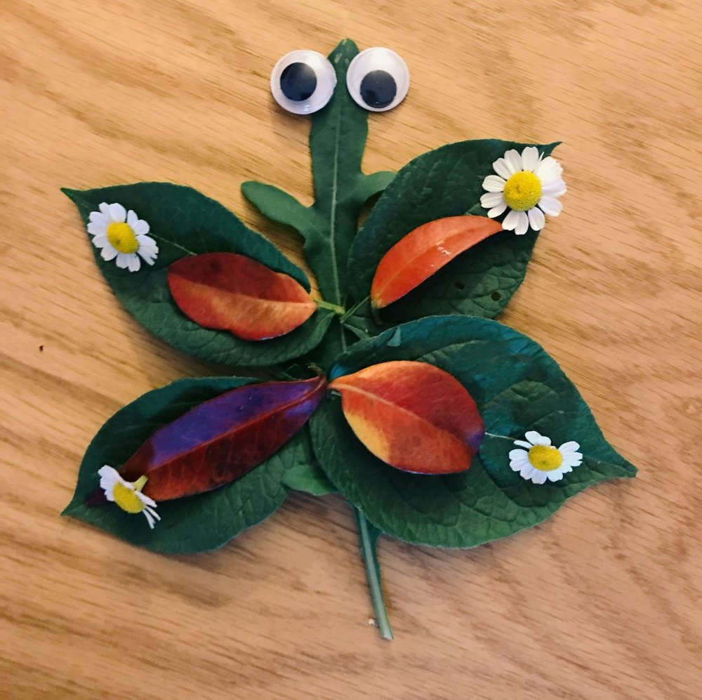 Leaf animals - A perfect Autumn craft