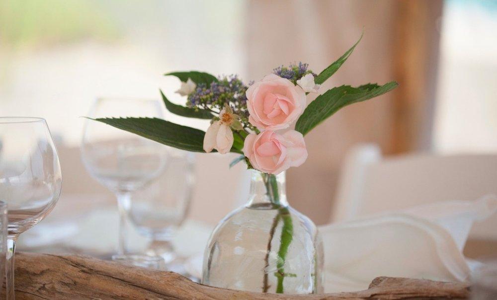 a floral design studio