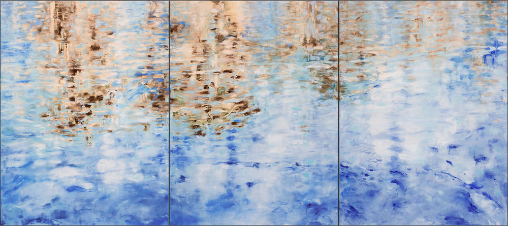 Alameda CRAB COVE #10 #11 #12 - Triptych