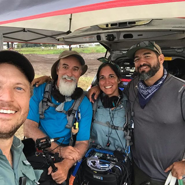 That's a wrap with an awesome crew! #setlife #discovery #audio #soundspeed #crewlife #florida #floridalife #orlandoflorida #soundteam @gothamsound @tai_audio @zaxcom @lectrosonics_inc @sounddevices
