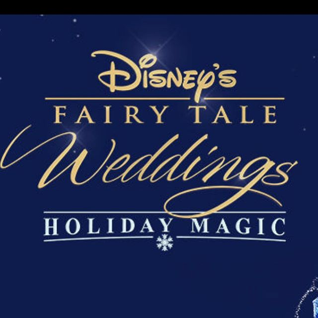 If you didn't catch it, check out FreeForms Disney Fairy Tale Weddings!! Glad to have provided the sound for some good and wholesome content..! #film #freeform #disney #wholesome #tv