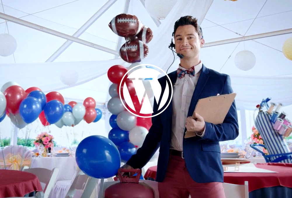 Wordpress SuperBowl Commercial