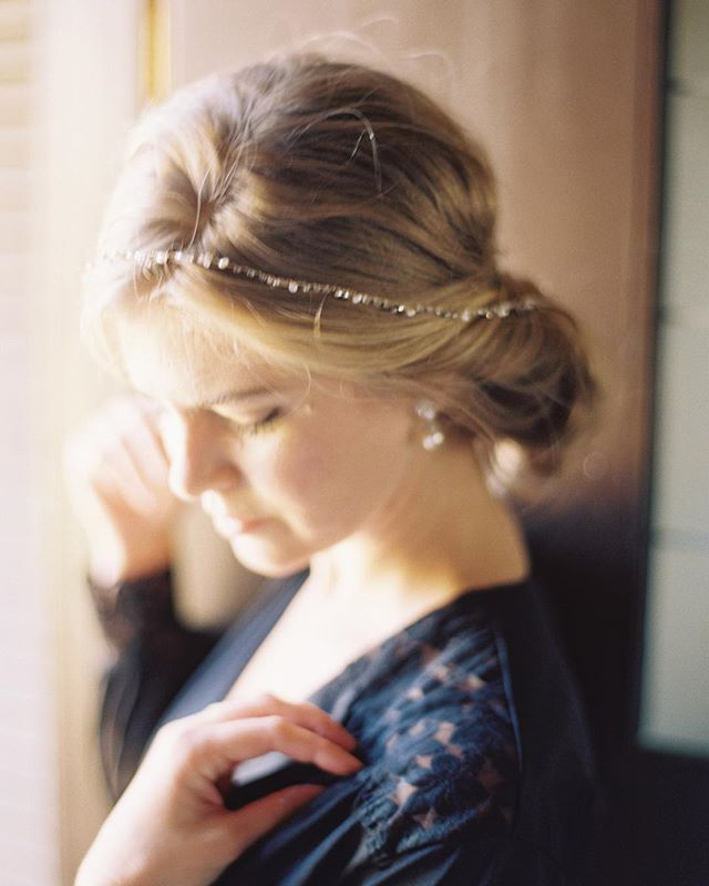 Happy winter season.  Photography: @michaelandcarina  Creative Direction: @eastmadeeventco  Hair and Makeup: @emily.artistry  Venue: @riveroakscharleston  Florist: @lafleurdujour  Calligraphy: @hellomaurelle  Attire: @joliennecollection  Hairpiece: @bhldn  Rings: @susiesaltzman  Shoes: @bellabelleshoes  Model: @ohlookitskristencook