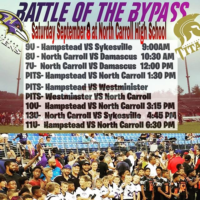 Battle of the bypass Saturday at nchs!!!!!!