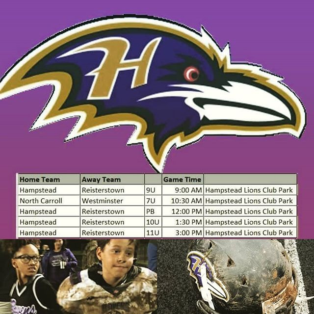 Week 3. Ravens vs Mustangs. Lions club park, Saturday!!