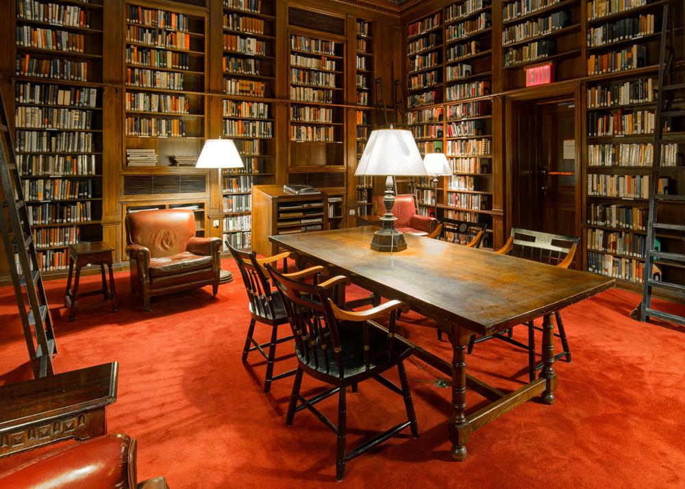 Library, Harvard Club of New York City.jpg