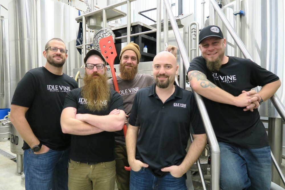 Brian Bristow (Owner), Scott Ferguson (Assistant Brewer) Scott Ciampa (Head Brewer) Todd Wink (Owner) Scott Smith (Sales and Marketing Manager)