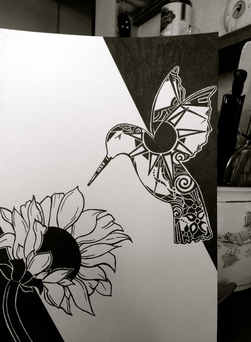 Olivia Van Wormer: Hummingbird