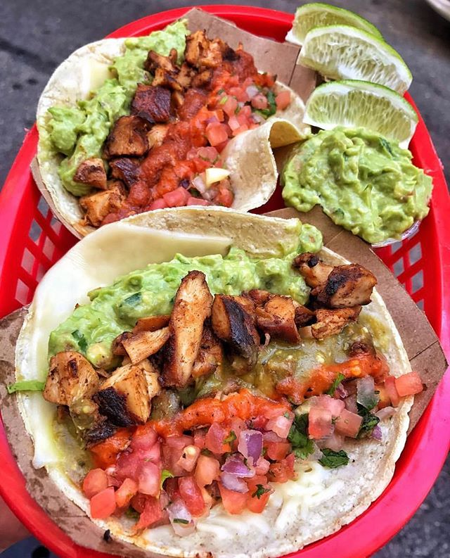 Load em' up! 🌮🌮 #DEVOURPOWER 📍: @dostoros 📷: @5boroughfoodie