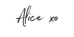 alice abba signature