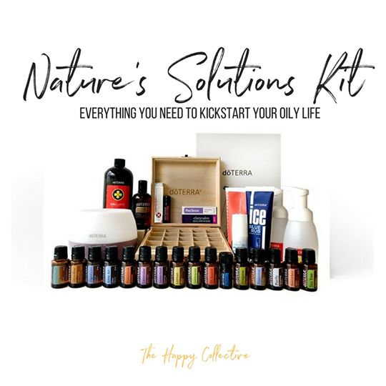 nature's solutions kit alice abba doterra essential oils