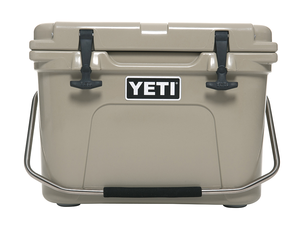 YETI® Roadie 20 (white, tan, blue)