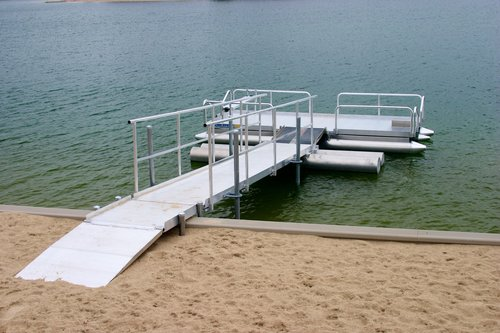 Need A Dock Part Of The Time And A Boat Part Of The Time? In Seconds, This  System Can Easily Turn Your Boat Into A Dock.