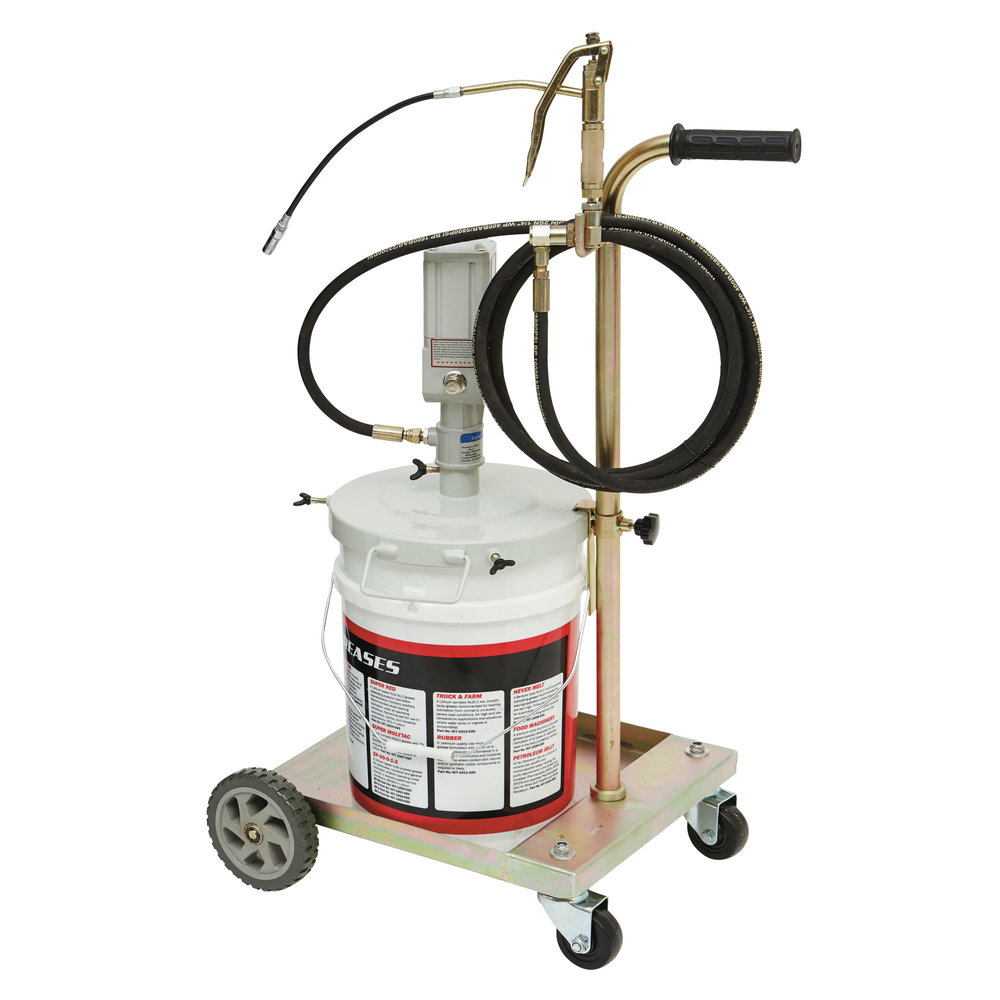 TEC7700 - Portable, Air Operated Grease Pump Trolley Kit for 20kg Drums