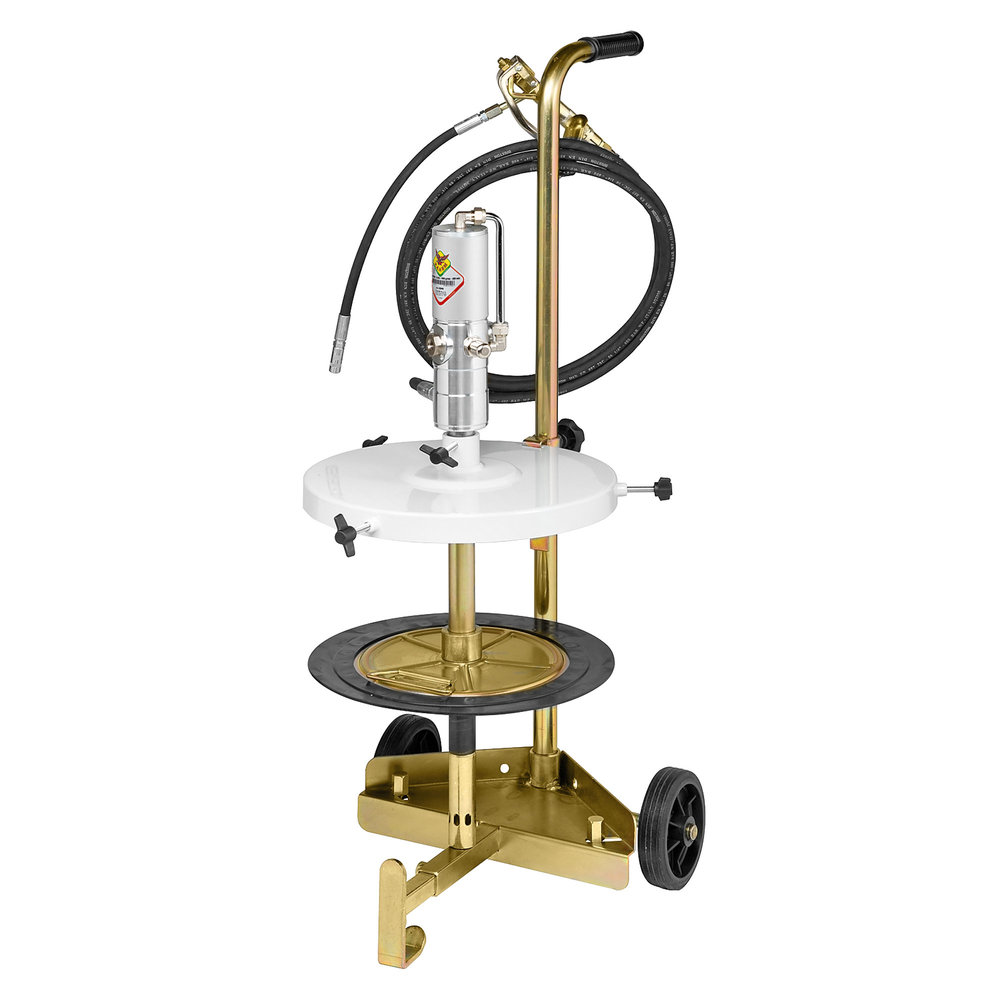 64033 - Portable, Air Operated Grease Pump Trolley Kit for 20kg Drums