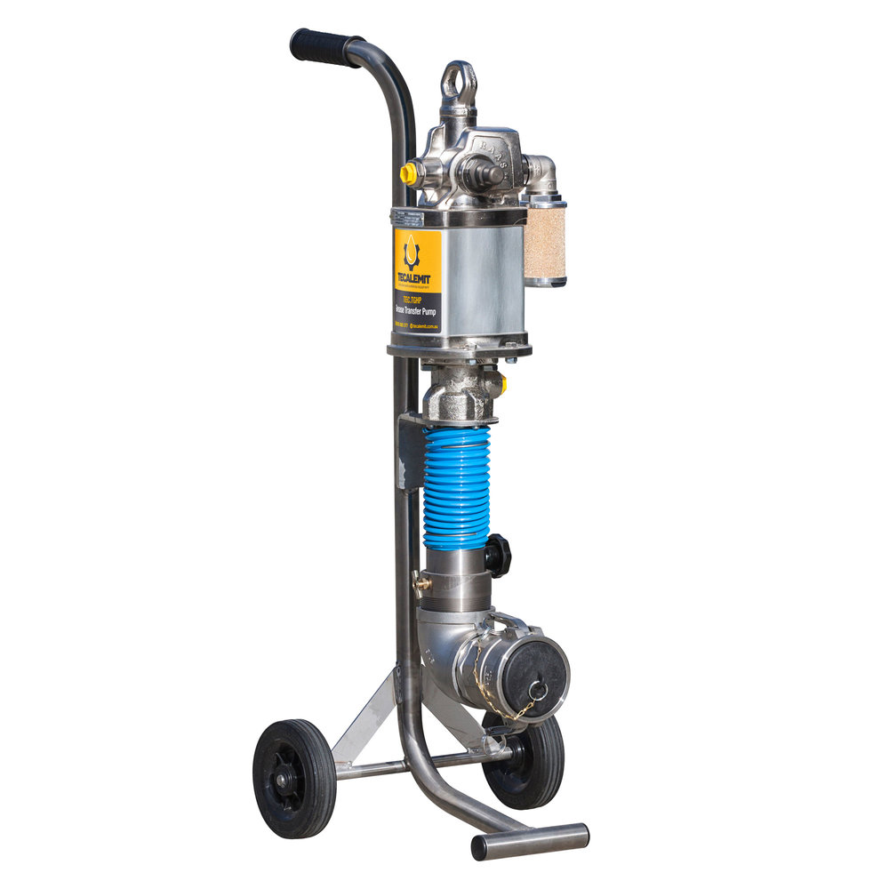 TEC.TGHP - Portable, High Pressure Grease Transfer Pump
