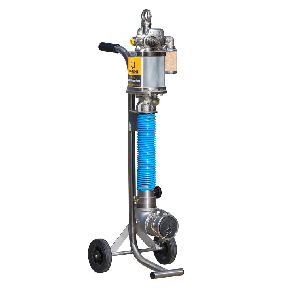 TEC.TGT - Portable, High Flow Grease Transfer Pump