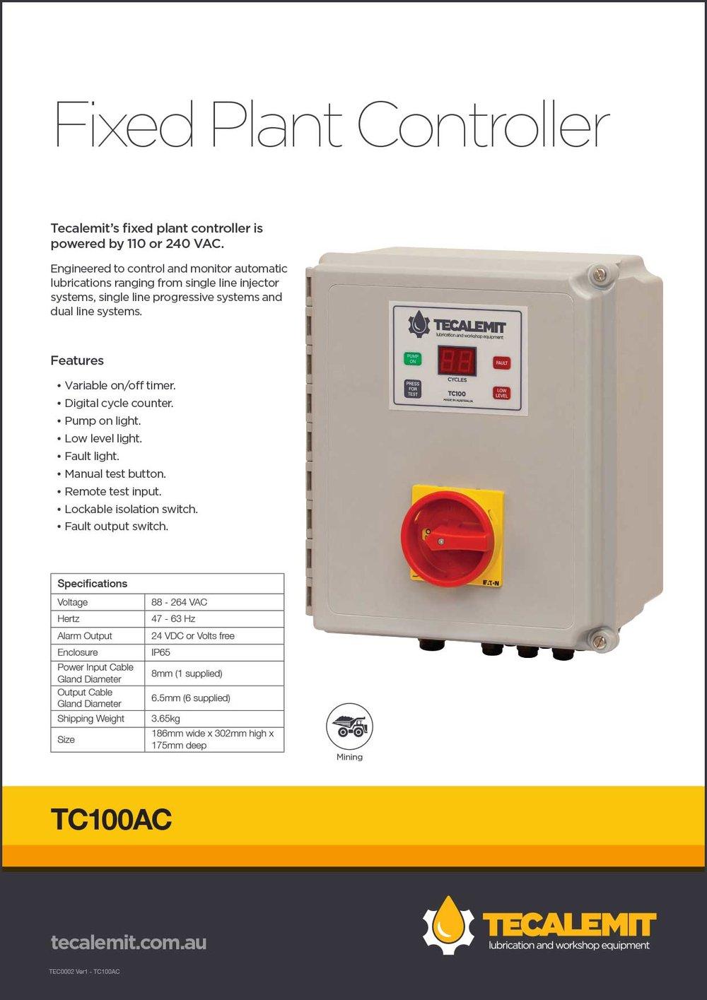 TC100AC Product Info