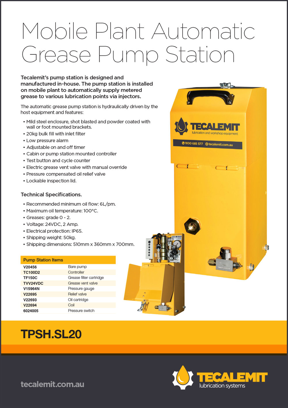 TPSH.SL20 Product Info
