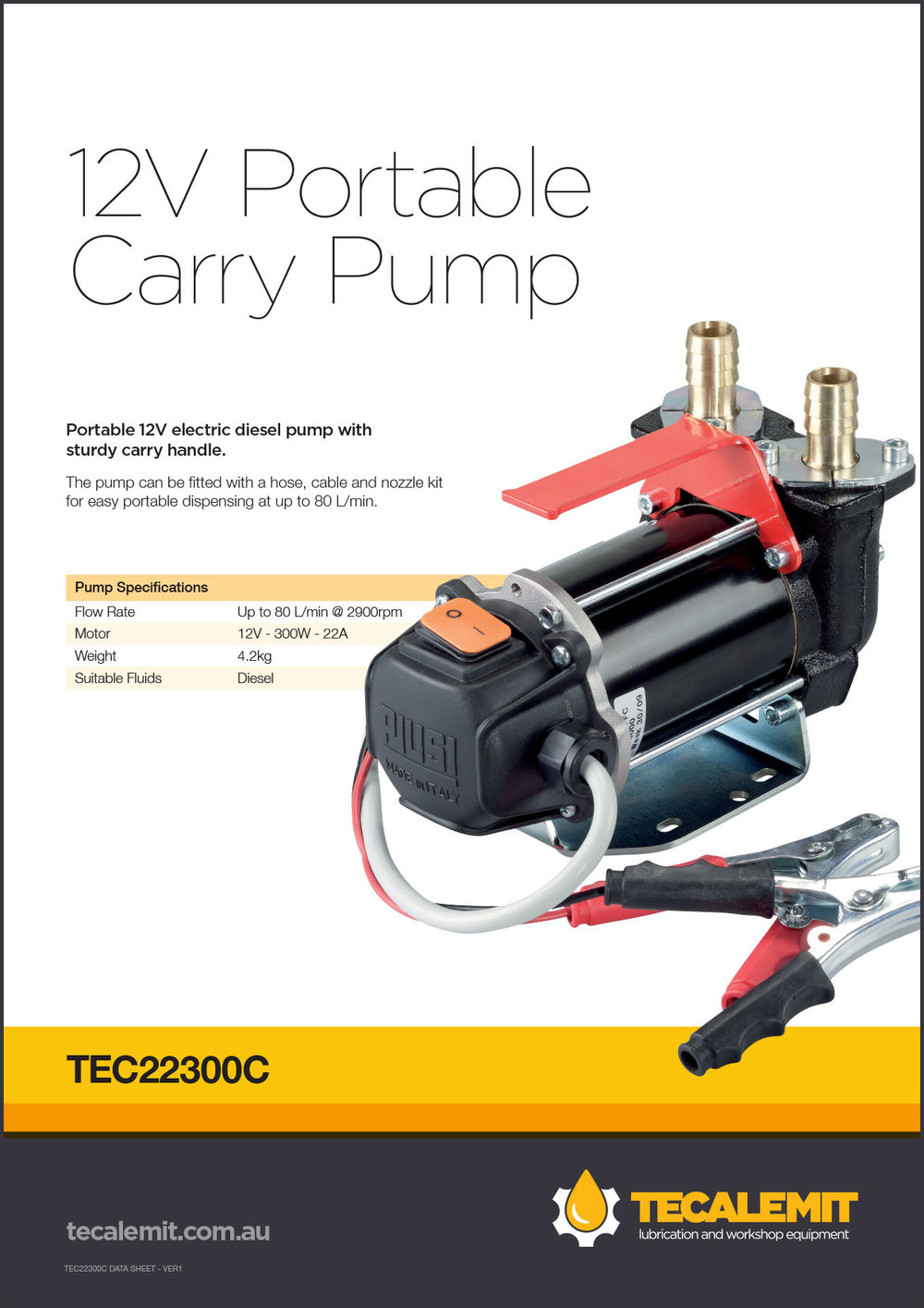 TEC22300C Product Info