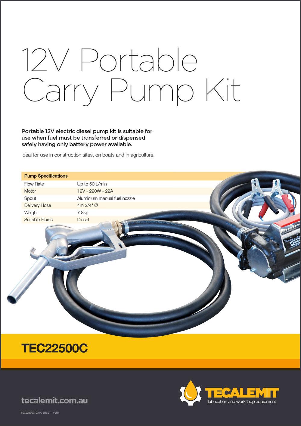 TEC22500C Product Info