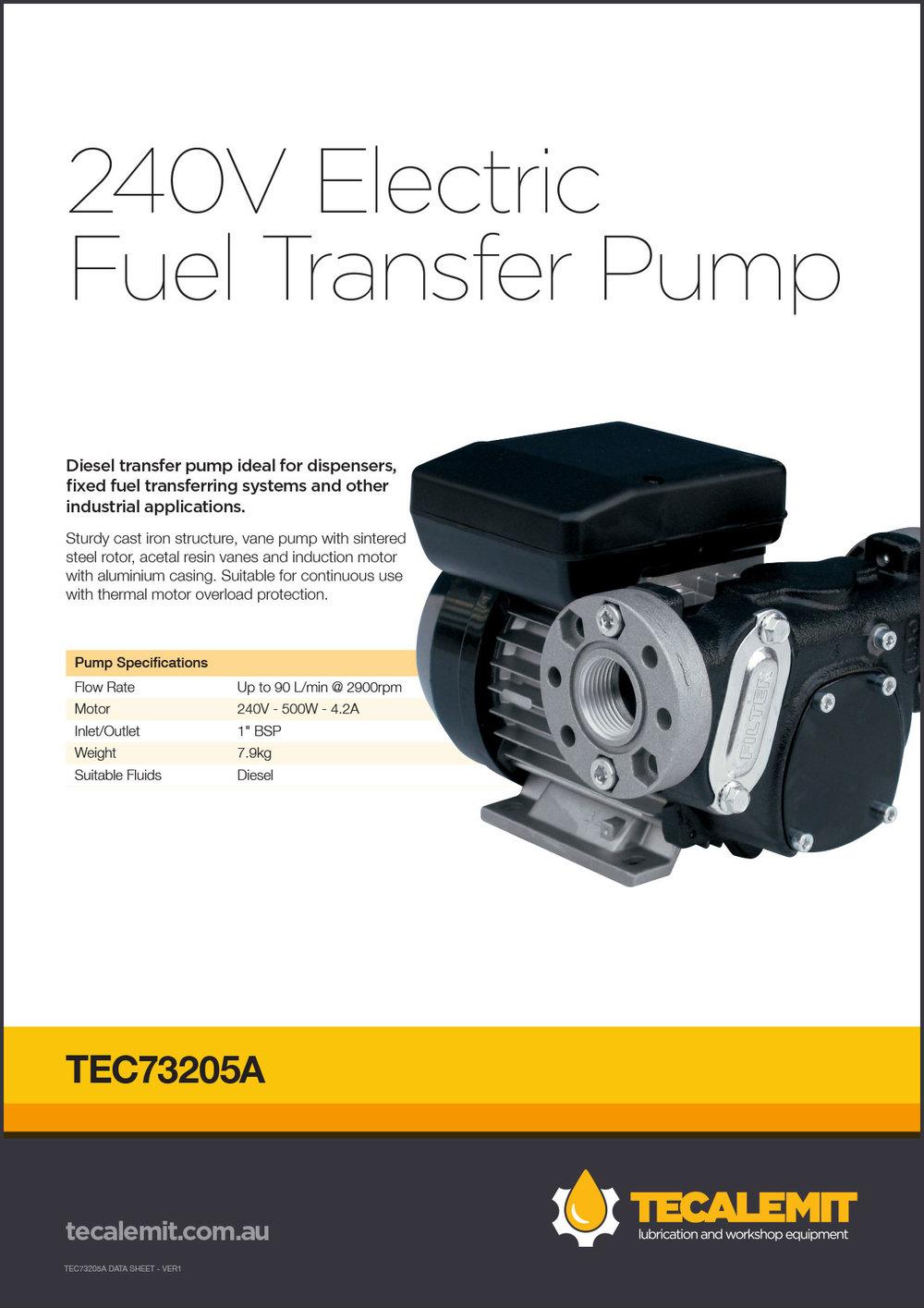 TEC73205A Product Info