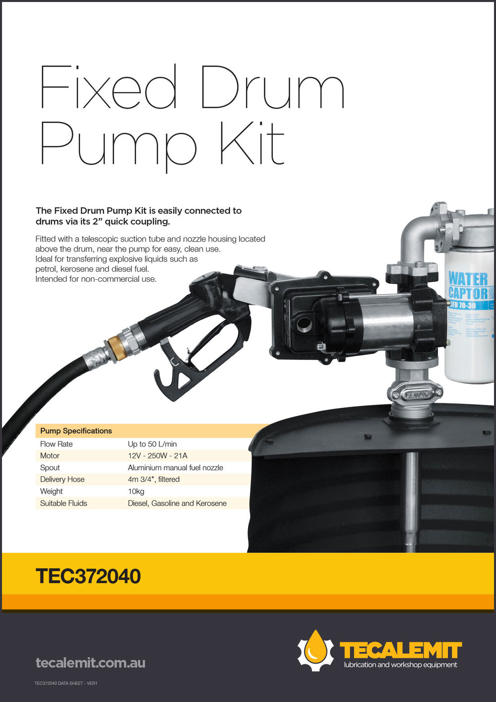 TEC372040 Product Info
