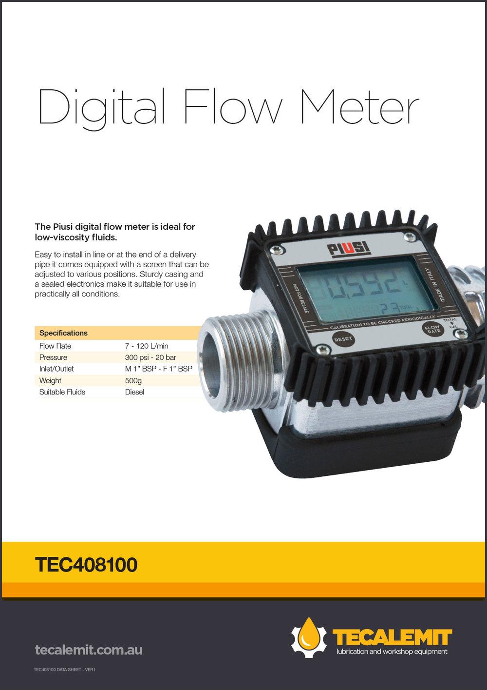 TEC408100 Product Info