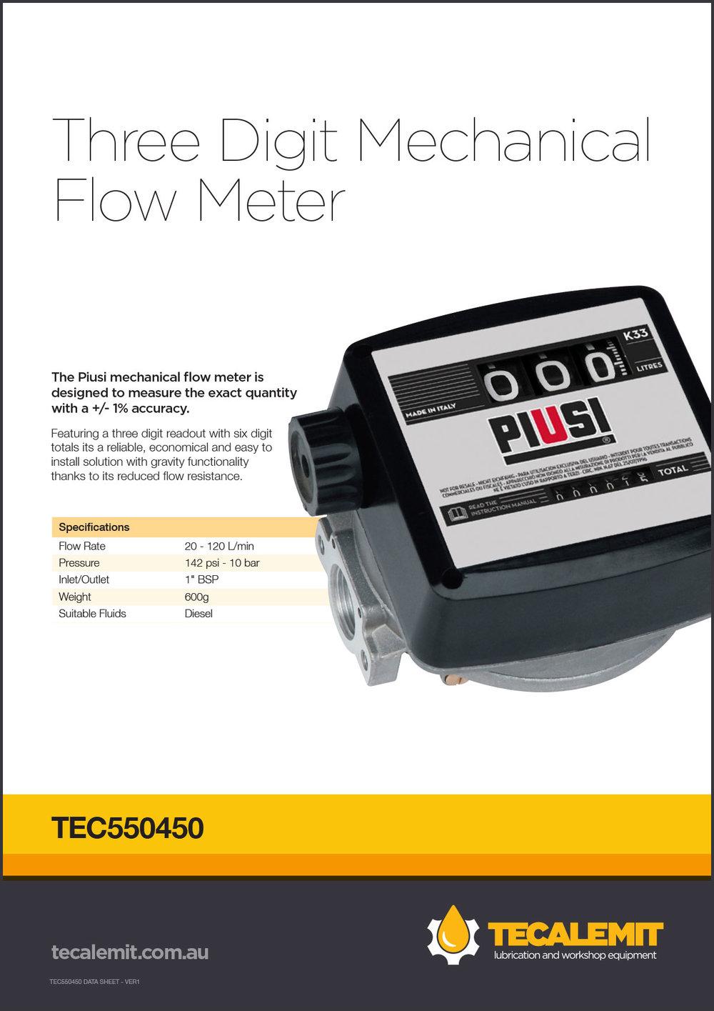 TEC550450 Product Info