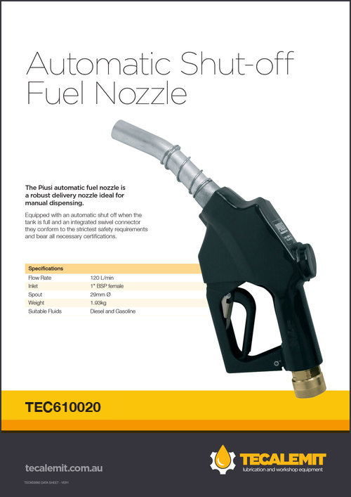 TEC610020 Product Info